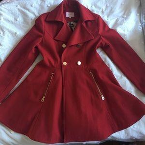Red Peplum Jacket